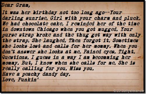 Dear Gram